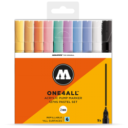 One4All 127HS Pastel 10 Set  molotow