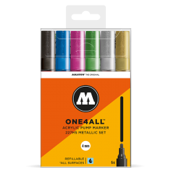 One4All 227HS Metallic Set molotow