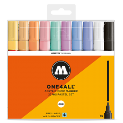 One4All 227HS Basic Pastel 10 Set  molotow