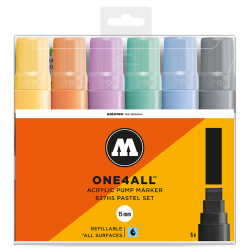 One4All 627HS Pastel Set molotow