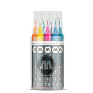 Molotow Aqua Softliner Ink Main-Kit