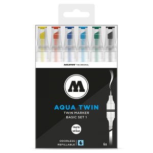 Molotow Aqua Twin Basic Set 1