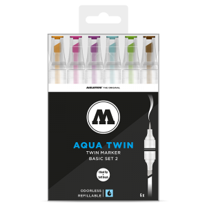 Molotow Aqua Twin Basic Set 2