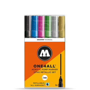 One4All 127HS Metallic Set molotow