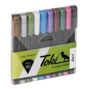 Toki Metallic Markers Set