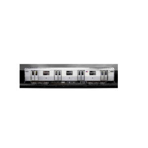 3D poster NYC Train 45 x 11 cm