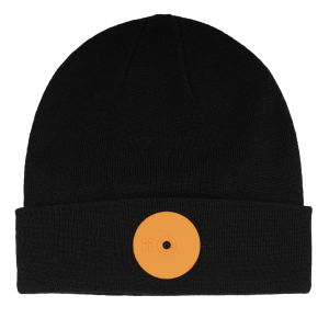 Mr.Serious Orange Dot Fat Beanie