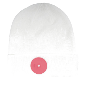 Mr.Serious Pink Dot Fat Beanie