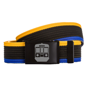 Tracks clth EN57 pasek yellow/black/blue