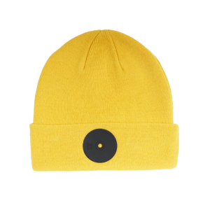 Mr.Serious Yellow Fat Beanie