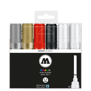 Chalk Marker 4-8mm Basic Set 1 molotow