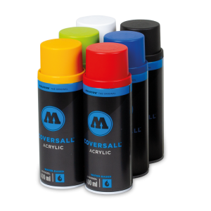 Coversall Water-Based 6 Pack Color Set  molotow