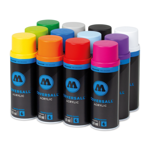 Coversall Water-Based 12 Pack Color Set