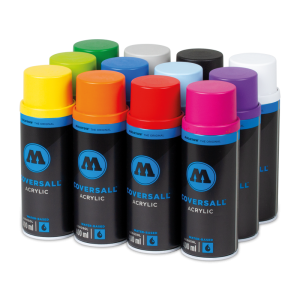 Coversall Water-Based 12 Pack Color Set  molotow