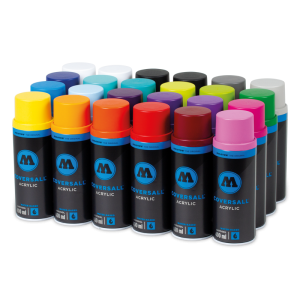 Coversall Water-Based 24 Pack Color Set  molotow