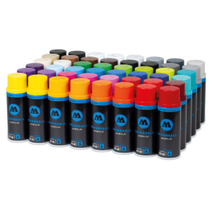 Coversall Water-Based 48 Pack Color Set  molotow