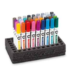 Aqua Color Brush Complete Set molotow