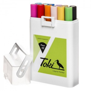 Toki Layout Markers Set A