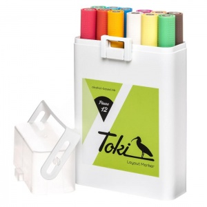 Toki Layout Markers Set C