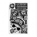 World Painted Black Sticker Pack