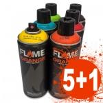 Flame Orange 5+1