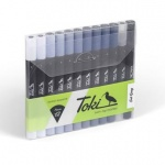 Toki Layout Markers Grey Set