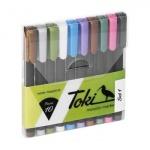 Toki Metallic Markers Set