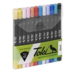 Toki Aquarelle Brush Marker Set 2