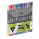 Toki Aquarelle Brush Marker Set 3