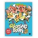 Graffiti Style Coloring Book kolorowanka