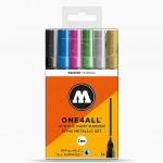 Molotow ONE4ALL 127HS Metallic Set
